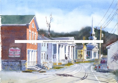 Rensselaerville Main Street | Copyright Robert Lynk